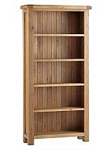 Vale Furnishers - Dorking Large Bookcase